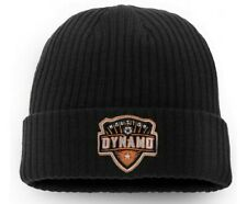Men's Houston Dynamo Fanatics Branded Black Core Cuffed Knit Hat