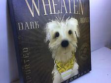 Soft Coated Wheaten Dog Terrier Dark Roast Coffee Company Wall Hanging