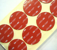 Perfect 50mm Round Double-Sided 3M VHB Self Adhesive Sticky Pad Auto/Home