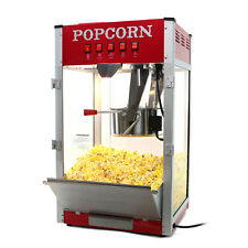 Paramount 16oz Commercial Popcorn Maker Machine - 16 oz Kettle Popper [Red]