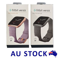 Fitbit Versa Smart Watch SPECIAL EDITION Aluminium Case Activity Fitness Tracker