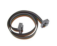 """2x5 10-Pin Female to Female IDC JTAG ISP Cable 0.1"""" 20CM"""