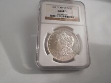 1878 7TF REV OF 78 Morgan Silver Dollar NGC MS 64 PL, Bright White, Nice Mirrors