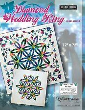 Judy NIemeyer Diamond Wedding Ring Paper Pieced and Applique Quilt Pattern