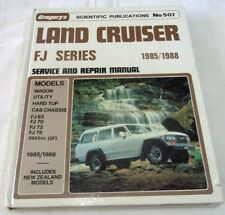 TOYOTA LAND CRUISER FJ SERIES SERVICE AND REPAIR MANUAL 1985-1988