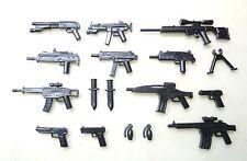 (no.16-7) custom swat lego police navy seal pistolet armée armes pour LEGO