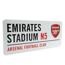 Arsenal FC Decorative Metal Stadium/Street Sign - Official Merchandise