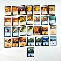 Jace vs Chandra MP 29 Card Common Lot Duel Deck MTG Magic the Gathering