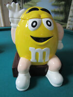 "M&M COOKIE JAR BY By Benjamin & Medwin  10"" TALL"