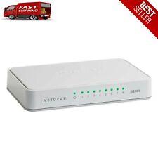 NETGEAR 8-Port Gigabit Ethernet Unmanaged Switch, Internet Splitter, Plug & Play