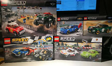 Lego Speed Champions Lot X5 75881 75888 75894 75884 75891 Ford Porsche Mini ZL1