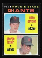 1971 Topps George Foster Giants RC #276