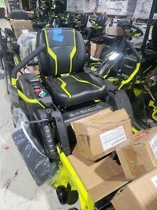 Ryobi 42 in. 100 Ah Electric Zero Turn Mower RY48ZTR100 ZT480EX New!