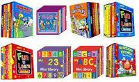 Aprendizaje Libros - Mini Biblioteca (Alligator) (Infantil Libro)