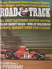 Road & Track 05/1976 featuring Ferrari, MG Midget, Plymouth, Toyota Celica