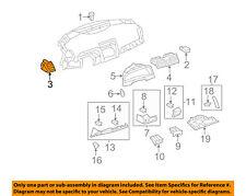 TOYOTA OEM 07-09 Camry Instrument Panel Dash-Defroster Vent Left 5565006060E0