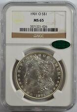 1901-O Morgan Silver Dollar NGC MS65 CAC