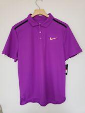 Nike Federer Dry Court Tennis Advantage Polo Dri Fit Shirt Sz Large 894856 584