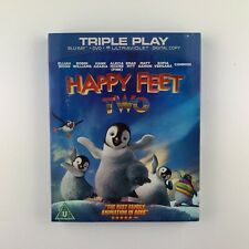 Happy Feet Two (Blu-ray, 2012, 2-Disc Set) *New & Sealed*