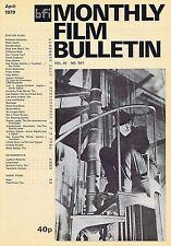 JOHN BARRYMOREMonthly Film BulletinApr1979