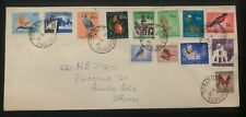 1961 Springs South Africa Colorful Stamps cover Domestic Used