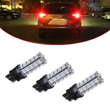 4x Pure Red 68SMD LED Light Bulbs Brake Tail Stop Lights 3528 3156 3157 Durable