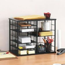 Desk Organizer Customize Business Home Office Craft Expandable Storage 12 Slots