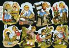 # GLANZBILDER # Krüger 98-08, süßer Kinder - Bogen, Klassiker von Krüger , rar