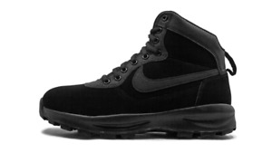 Nike Manoadome TRIPLE BLACK ANTHRACITE 844358-003 sz 8 Men Boots Winter Hiking