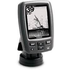 """Garmin echo 151dv Fishfinder 4"""" with DownVü Transducer 77-200kHz"""