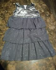 Girl's Justice Gray Dress Size 12