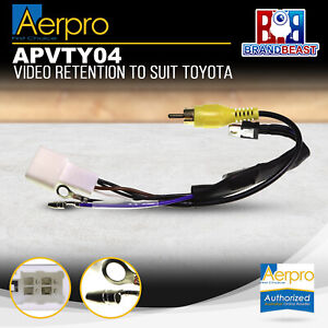 Aerpro APVTY04 Video Retention Harness to Suit Toyota Vehicles