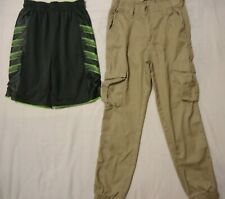 Lot Of 2 Boys Chams Joggers Pant & Swim Short  Size 12