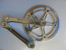 Andel track/single speed black or silver chainset 144BCD fluted 165mm/170mm