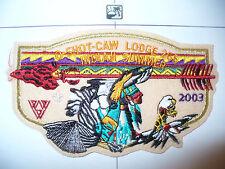OA O Shot Caw Lodge 265 ZF3,2003 Indian Summer Dancer,PCH Felt Flap,S Florida,FL