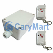 100M 1 Kanal AC 220V Stromausgang Funk System Ein/Aus Schalter Funkrelais Funk