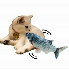 Electronic Pet Cat Funny Toy Electric Usb Charge Simulation Fish Toys Relax Play