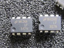 5 Stück - LF357N NSC DIP8 - WIDE BANDWIDTH SINGLE J-FET OP AMPLIFIER - 5pcs