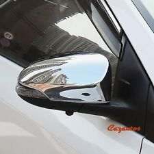 2014-2017 Toyota Corolla Chrome Side Review Mirror Cover Pair
