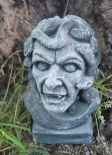 "Latex zombie mold plaster concrete casting garden mould 5""H x 3""W"