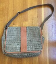 Authentic Coach Diaper/Messenger  Bag In EUC