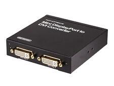 Mini DisplayPort | Thunderbolt to DVI (2 DVI Output) Converter  8118