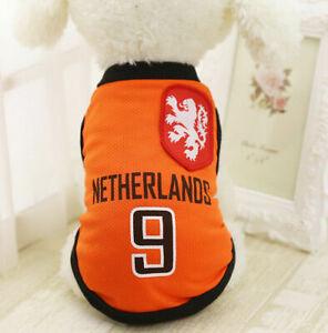 XS Orange Summer Pets Clothes Vest Coat T Shirt Jacket Clothing For Dogs Cats