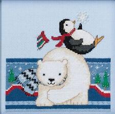 Cross Stitch Kit - Mill Hill / Debbie Mumm - Polar Play #DM30-1711