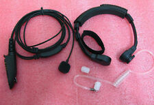 Throat Vibration Mic Acoustic Tube Motorola GP328 GP340 GP380 GP360 HT1250