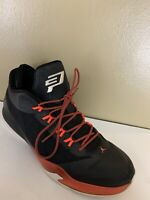Nike Air Jordan CP3. VIII Chris Paul Black Red Men's Shoes 684855 023 - SIZE 14