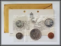 1965 Silver Canada Proof-like Coin Mint Set Sealed Original Canadian PL Coins