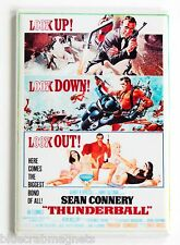 Thunderball FRIDGE MAGNET (2 x 3 inches) movie poster sean connery james bond