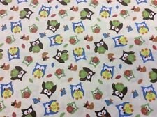 Springs Creative - CP47767 Bright Owl Allover - 100% Cotton - By The 1/4m