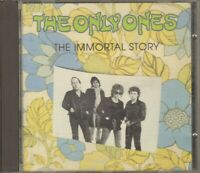 THE ONLY ONES The Immortal Story CD Album
